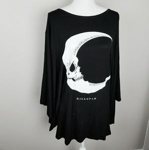Killstar Dark Side Of The Moon Kimono Top Tunic M